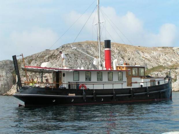 trawler remorqueur hollandais d u0026 39 occasion  u00e0 vendre